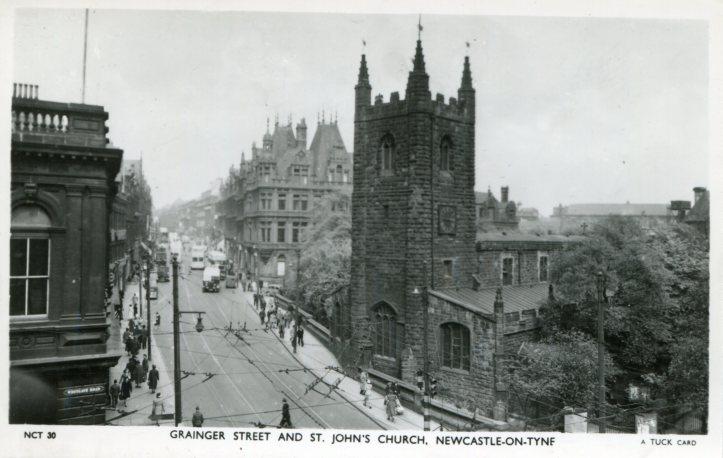 Grainger Street & St John's Church